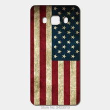 High Quality Cell phone case For Samsung Galaxy 2016 J5 J7 J3 J1 A3 A5 A7 Case Hard PC American flag Patterned Cover
