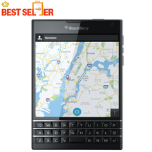Original BlackBerry passport Q30 LTE cell Phone BlackBerry OS 10.3 Quad core 3GB RAM 32GB ROM 13MP Camera DHL EMS free shipping(China)