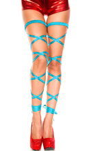 10 Colors Wet Look PVC Pols Garter Belts Girl Night Club Leg Loops and Bandage Stay Up Loops Bandage Gothic Lingerie