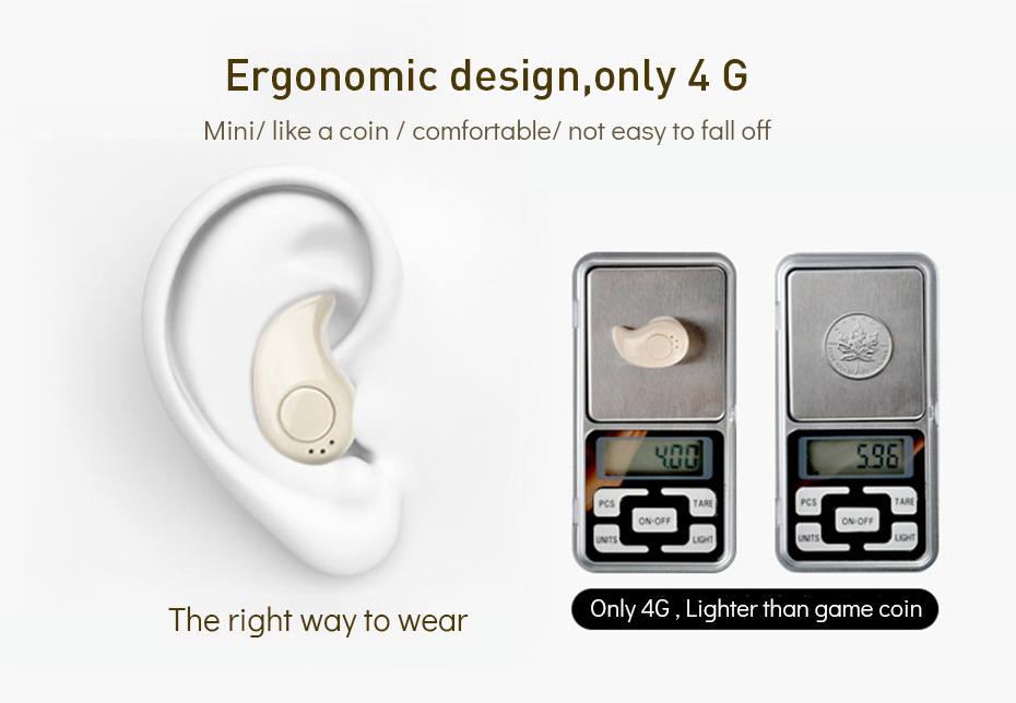 Wireless Earphones Bluetooth Noise Cancelling Bluetooth Earphone Sport Wireless Headset Mini Earphones For Samsung Galaxy (7)