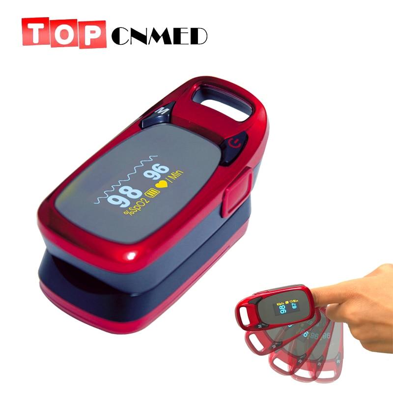 Anti-shaking Fingertip Pulse Oximeter Blood Oxygen Saturation Monitor Oximetro De Pulso Portable Pulsioximetro<br>