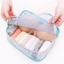 High Quality Storage Cosmetic Bags Style Storage Travel Portable Underwear Cases Bra Organizer New Hot 32*25*15 cm