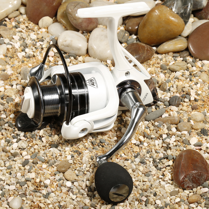 Fishing Reels Spinning Reel Pearl White TR3000 11BB 5.0:1 aluminum material Rocker arm Rear Drag High Quality carretilha pesca<br><br>Aliexpress