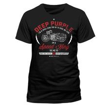 2017 Summer Creative Deep Purple 'Speed King' Design Men'S High Quality T Shirt Cool Tops Hipster Style Casual T Shirt