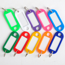 Free shipping 10 Piece Plastic Custom Key Tags Numbered Metal Hotel Key Ring Promotional Motel Key Tags