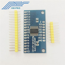 2PCS CD74HC4067 CMOS 16 Channel Analog Digital MUX Breakout Board Module For Arduino(China)