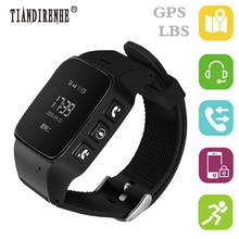 TINADIRENHE Q90 Fitness Tracker GPS Smart Band Watch GSM LBS Wifi SOS Wristwatch Locator Watch Elderly for iphone 7 7s Android