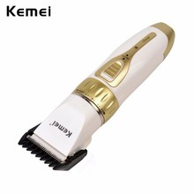 Kemei Pro Electric Rechargeable Beard Hair Trimmers Electric Hair Clipper Trimmer Cutting Machine for Hair Cut for Men Children