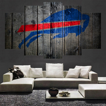 Rugby Football Buffalo Bills Logo Painting Wall Modular Picture Canvas Paintings For Living Room Bedroom Kids Room Poster