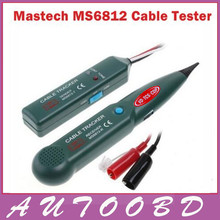 Mastech MS6812 Network Cable Tracker Tester Tone Generator Telephone Phone Wire Line Finder(China)