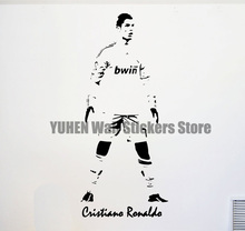CRISTIANO RONALDO Real Madrid Fc Footballer Vinyl Wall Sticker Mural Decal Large wall Art