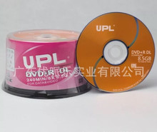 25 discs Less than 0.3% Defect Rate UPL D9 8.5 GB Blank Printed DVD+R DL Disc