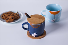 Coffee mugs Ceramic coffee mugs hand-painted Animal Ceramic mugs Creative Ceramic mugs Manufacturer Wholesale cups(China)