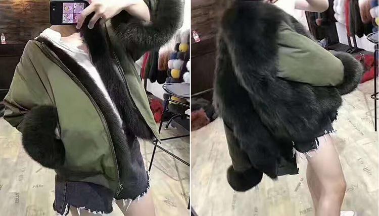 new styles fox fur jacket for women (35)