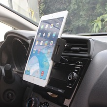 Universal 360 Degree Rotating Car Air Vent Mount Holder Stand For iPad 2 3 4 Air Galaxy Tab 2 S3 iPhone 6P 7 Plus Xiaomi 5 6(China)