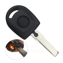 Transponder Car Key Shell With Light For VW Volkswagen Jetta Golf Passat Beetle Sharan Replacement FOB Good quality Cover Case