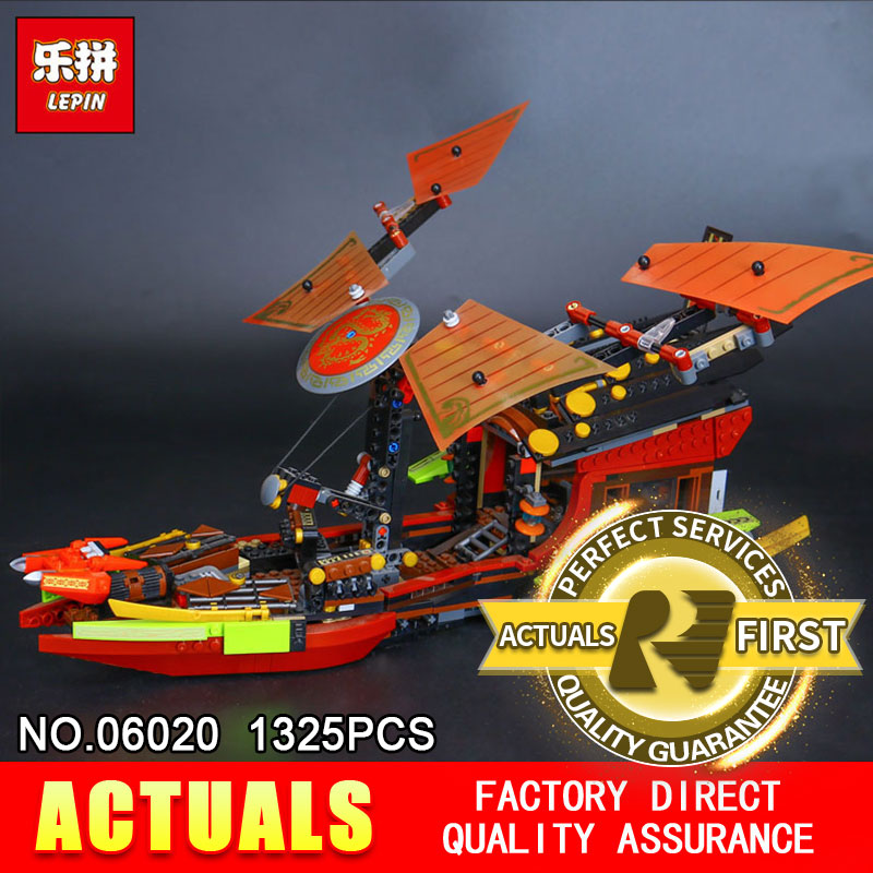 Lepin 06020 1325Pcs The Movies Series Final Fight of Destiny The Bounty Building Blocks Bricks Toys Model Compatible with 10402<br>