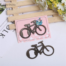 bicycle beer Opener 100pcs Wedding Favor Supplies celebrations party parties souvenirs(China)