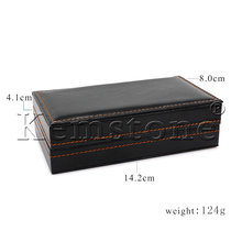 Synthetic Leather Cufflinks Boxes,can be packed 8pair/box,cfbox003