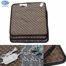45cmx45cm Electric Blanket Pet Polyester Waterproof Electric Heated Mat 20W 220V Easy To Clean Warm Heater Pad(China)