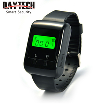 DAYTECH Watch Pager Wireless Calling Pager System for Restaurant Hospital Caregiver Home 433MHZ Rechargeable