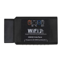 High Quality ELM327 WIFI OBD2 EOBD Scan Tool Support Android & IOS  Software V2.1 Car Diagnostic Tool OBD2 Scanner Interface