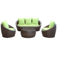 2017 New Style target outdoor resin wicker patio furniture(China)