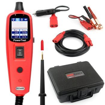 Mismo como YD208 Circuito Auto Tester Multímetro Sonda de alimentación Lámpara de Reparación de Coches Automoción Eléctrica Multímetro 0 V-380 V tensión OS2600