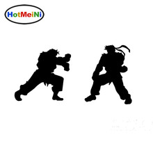 HotMeiNi Japanese Anime Fighting Game Street Fighter Fighting Car Sticker Motorcycles Kayak Reflective Vinyl Decal 10 Colors(China)