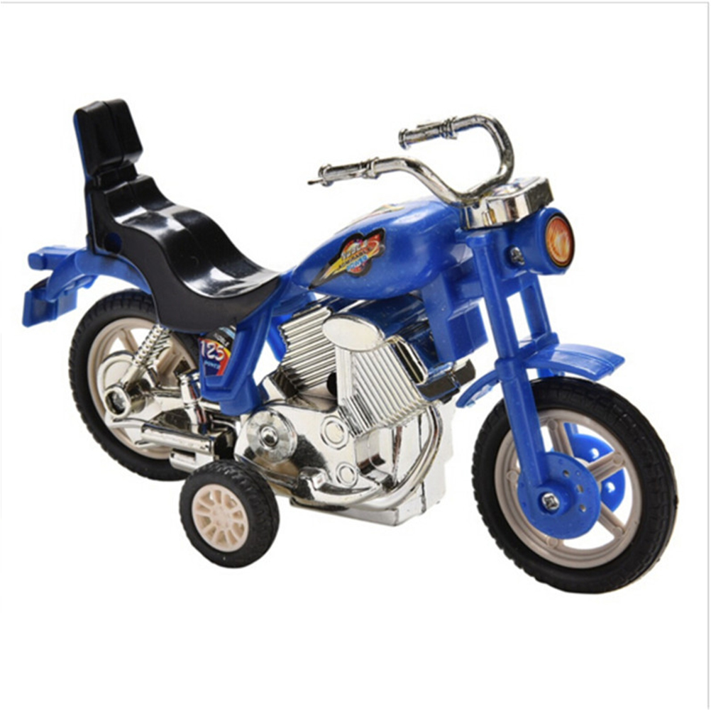 Plastic Motorcycle Motorbike Toy Model Hobby Collection Sport Bike Replace Kids Gift Boys Girls Present Random(China)