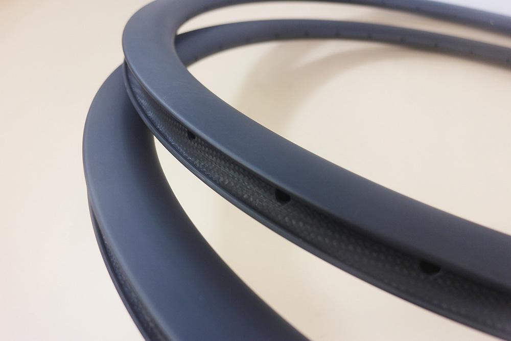 700c road bike disc brake carbon rims 38mm deep 25mm wide 32 3 holes clincher cyclocross wheel