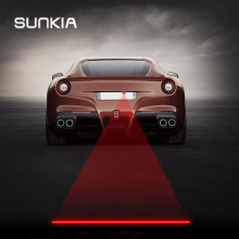 Car&Motorcycles  Laser Fog Lamp Anti-Fog Light Rear Warming Light For KIA Hyundai Ford Mazda VW Skoda Suzuki with New Patterns