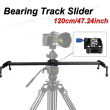 Professional 120cm/47 inch Bearing Video Track Slider Dolly Stabilizer System DSLR Camera Camcorder / Better Sliding-pad - Kuli Store store