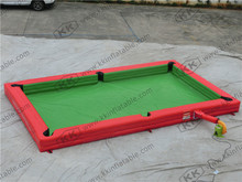 New inflatable snooker ball football inflatable pool table field snooker