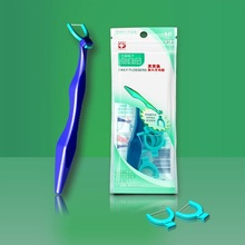 1 Holder and 110pcs Superfine Nice Dental Floss Teeth Stick Toothpicks Floss Pick Patent Dental Floss Propmotion irrigador
