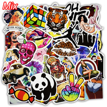 100 Pcs Mixed Stickers Hot Sale Snowboard Doodle Luggage Laptop Decal Toys Bike Car Motorcycle Phone Cartoon Jdm Funny Sticker(China)