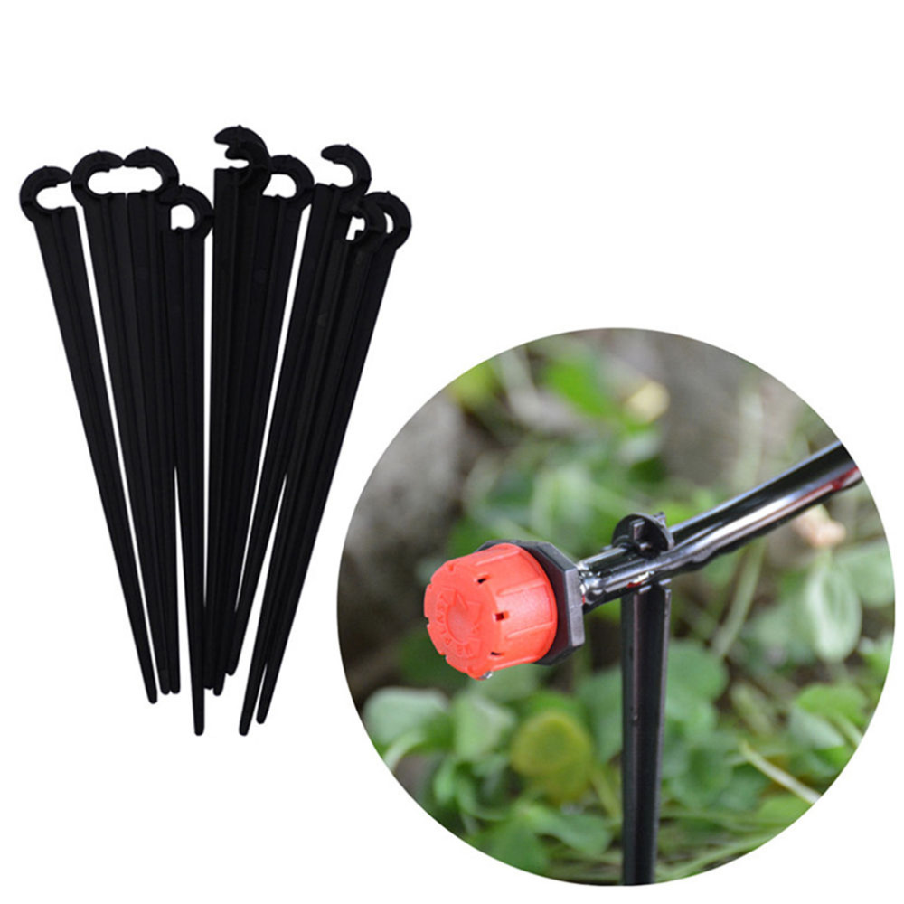 50Pcs-lot-11cm-Durable-Plastic-Hook-Fixed-Stems-Support-Holder-for-4-7-Drip-Irrigation-System