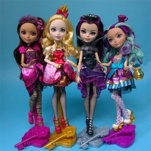 HOT 28cm Monster Ever After High Quality Dolls Original Fashion Joints Anime Model Toy for Girls Gift Toys & Doll Accessories