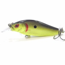 wLure Fishing Lure Crankbait Shallow Diver Tight Wobble High Quality ABS Construction 13g 9cm Hard Bait C735