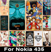 Phone Cases For Microsoft Nokia Lumia 435 N435 4.0 inch Hard Plastic Housings Dirt-resistant Sheaths Hoods Durable Back Shells