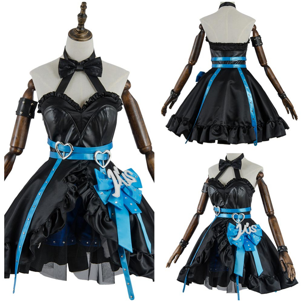 Love Live Lovelive Eli Ayase Cosplay Costume Initial D Eli Ayase School Idol Stage Dress Cosplay Costume Halloween Party