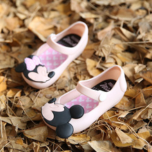 melis children beach Sandals Mickey Minnie kids toddler baby little girl crystal jelly shoe footwear candy smell style shoes
