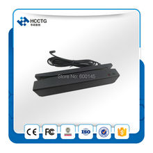 FREE SHIPPING RS232, PS/2 or USB Small size Bi-directional magnetic Barcode Slot Reader/Skimmer with free SDK--HCC710