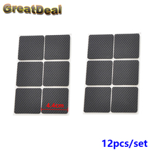 2Set EVA Antiskid Shockproof Sticker Tape Mute Pads Chair Non-slip Pad Desk Feet Mats Furniture Pad Cover Square HY842