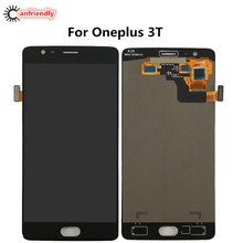 For OnePlus 3T A3010 LCD Display + Touch Screen Digitizer Assembly Replacement Glass Panel For One Plus Three T lcds repair new