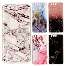 Marble Rock Silicon Cases For Huawei P10 Plus P10Plus Soft Cover Case Shell Capinha Etui Coque Hoesje Funda Carcasa Capa Color(China)