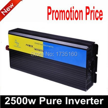 2500W Watt 2500W Pure Sine Wave Power Invertor Converter 12V DC to 230V AC solenergi inverter 2500W(China)