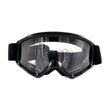 MG-015-BK Black Color Clear Lens  Flexible Adult Motorcycle Protective Gears Motocross Bike Cross Country  Goggles Glasses