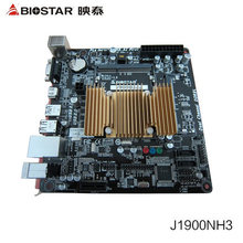 Motherboard used original Biostar J1900NH3 integrated quad-core CPU mini ITX motherboards small computer suite