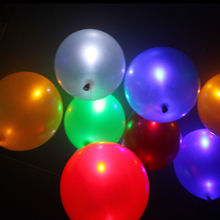 50pcs Led Flash Balloons Globos Party Baloons Illuminated LED Balloon Glow In The Dark Sky Lanterns Wedding&Birthday Decoration